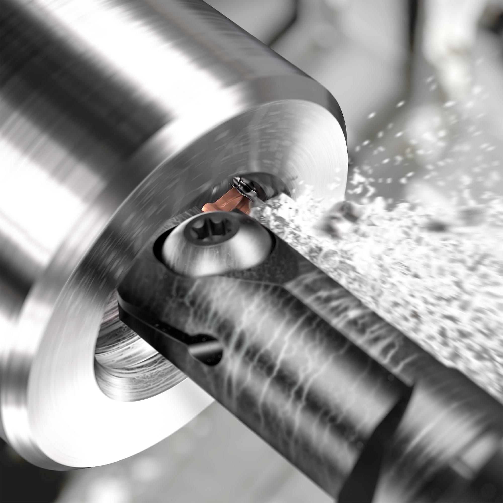 Высокоточная обработка канавок малого диаметра от Sandvik Coromant